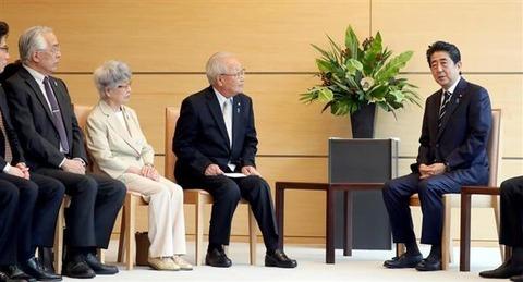 【安倍首相】「次は私の番だ」「私は北朝鮮にだまされない」