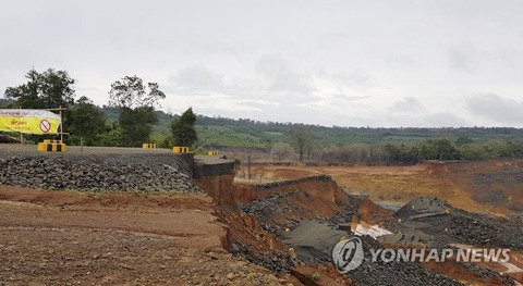 【画像】ラオスのダムの跡地が初公開1