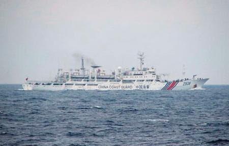 中国海警局の船