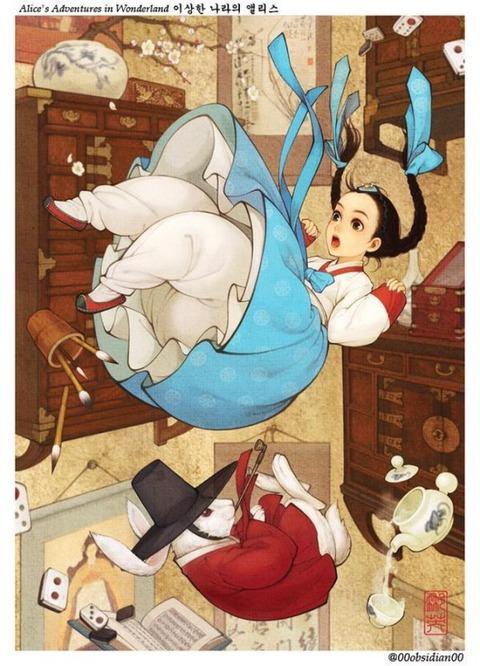 チマチョゴリ版の『アナと雪の女王』4