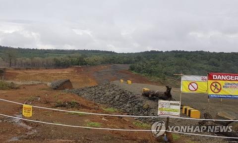 【画像】ラオスのダムの跡地が初公開4