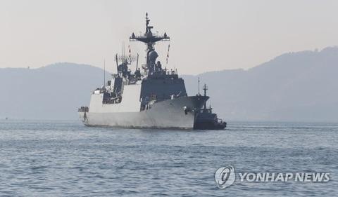 【韓国軍】韓国海軍艦艇3隻2