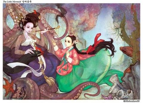 チマチョゴリ版の『アナと雪の女王』3