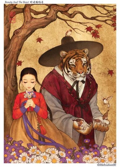 チマチョゴリ版の『アナと雪の女王』5