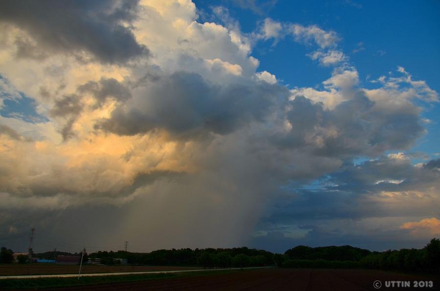 雲の風景 ~移り行く季節の狭間~