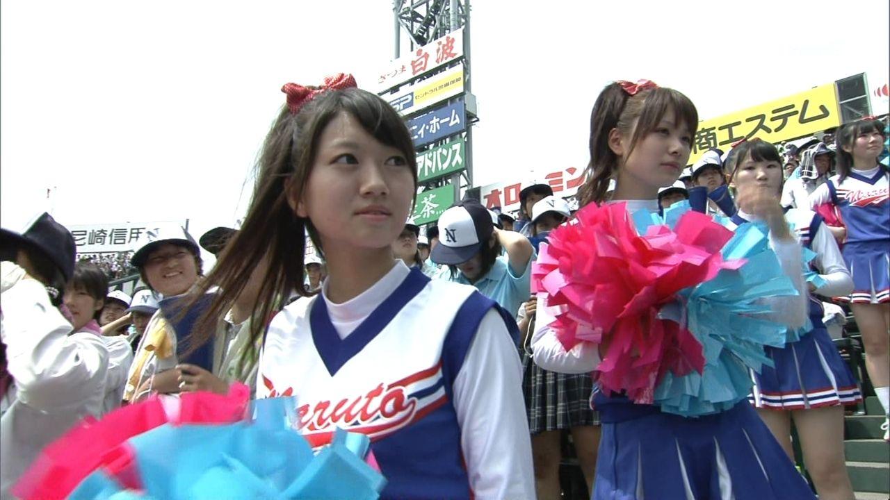 甲子園のチアリーダーYouTube動画>7本 ->画像>326枚
