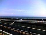 道の駅 潮見坂より太平洋を望む