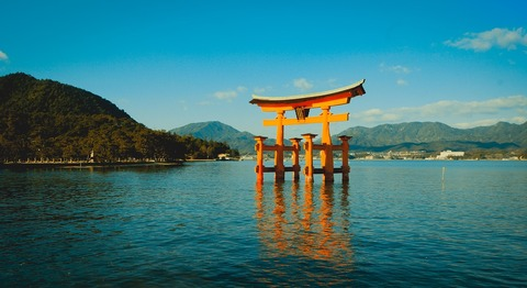 itsukushima-shrine-4136713_1280