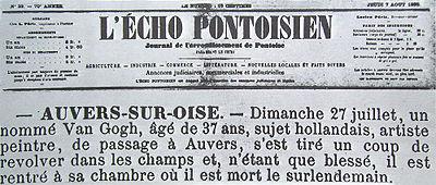 400px-Vincent-van-gogh-echo-pontoisien-august7-1890