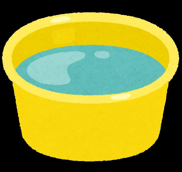 ofuro_oke_plastic_water
