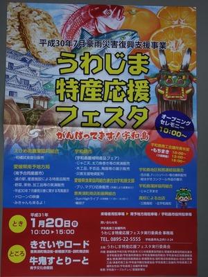 うわじま特産応援フェスタチラシ2