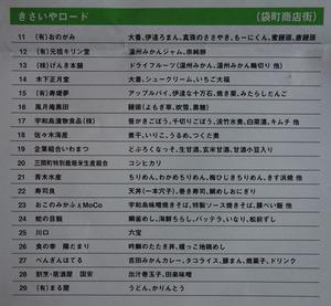 うわじま特産応援フェスタ出店一覧2