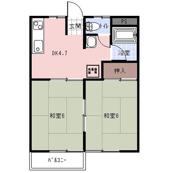 アパート hspace=