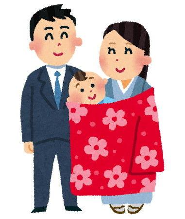 お宮参り(家族)