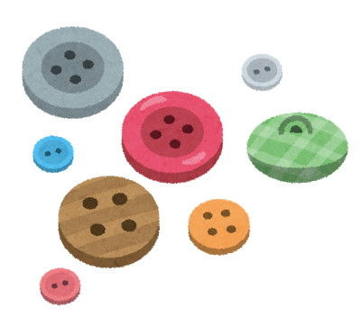 裁縫ボタン