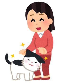 pet_natsukareru_cat_woman (1)