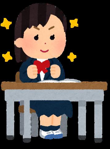 yaruki_aru_school_girl
