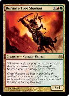 炎樹族のシャーマン