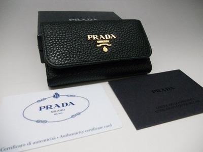 プラダ PRADA SAFFIANO METAL カーフレザー 長財布 ブラック