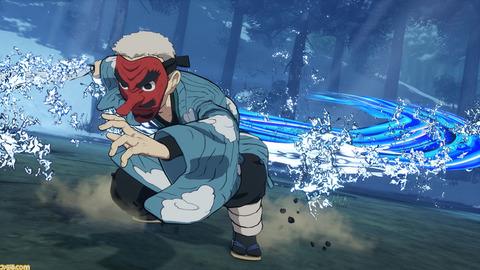 ゲーム『鬼滅の刃 ヒノカミ血風譚』に鱗滝左近次が参戦決定。