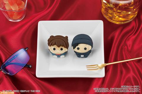 映画『名探偵コナン 緋色の弾丸』公開記念でコナンと赤井秀一の和菓子が登場。