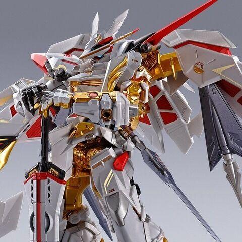 「ガンダムSEED」アストレイ ゴールドフレーム天(アマツ)ハナ バージョン華、METAL BUILD化!