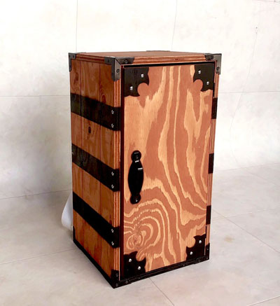 『鬼滅の刃』炭治郎の箱を大工さんがガチで製作