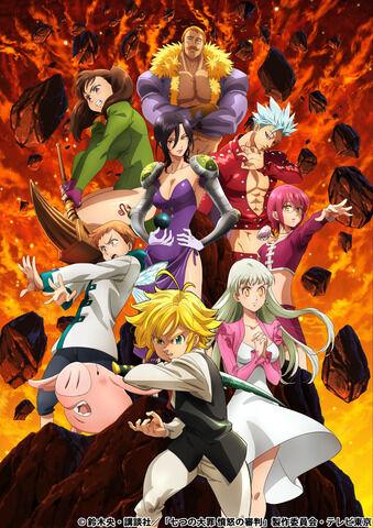 「七つの大罪 憤怒の審判」2021年1月より放送へ!ティザービジュアル公開