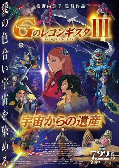 《Gのレコンギスタ》劇場版第3部「宇宙からの遺産」が7月22日公開