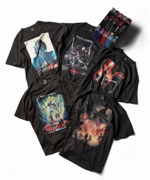 《ガンダム》ZOZOTOWN限定アパレル Tシャツ&ビデオパッケージ風ボックス 「逆襲のシャア」「閃光のハサウェイ」も