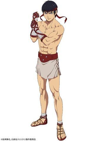 TVアニメ「セスタス -The Roman Fighter-」、第1弾ビジュアル&セスタス役・峯田大夢コメント公開!