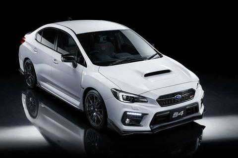 スバルから500台限定STIチューンモデル「WRX S4 STI Sport♯」