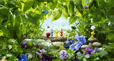 『ピクミン3 デラックス』ストーリーや新モード、協力プレイなどについて紹介。