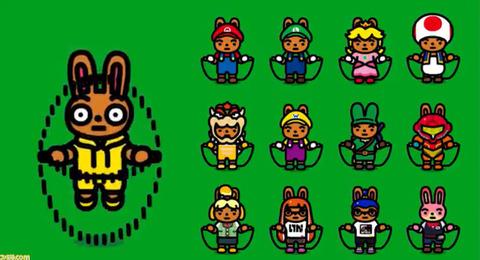 Switch『ジャンプロープ チャレンジ』にマリオやリンク、サムス、しずえなど12種類の任天堂キャラ衣装が追加。