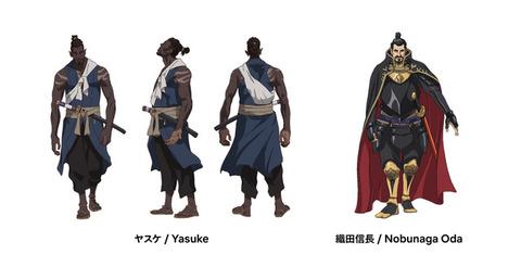 MAPPA制作のNetflixアニメ「Yasuke -ヤスケ-」キャラデザ公開!