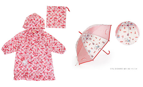 「サンリオ」雨具やお家遊びグッズが登場