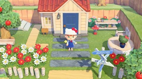 """『あつ森』amiiboカード""""サンリオキャラクターズコラボ""""で家具や服の注文、住民の勧誘が可能に。"""