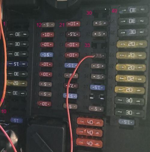 mini R56 fuse box 02