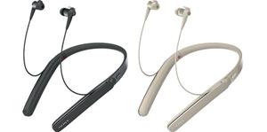 WI-1000X ワイヤレスノイズキャンセリングヘッドホン ネックバンドイヤホン