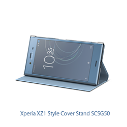 Xperia XZ1 Style Cover Stand SCSG50