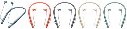 ネックバンド型Bluetoothイヤホン WI-H700