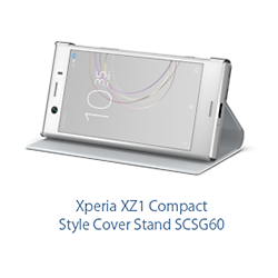 Xperia XZ1 Compact Style Cover Stand SCSG60