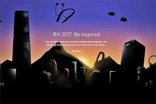 IFA2017 SONY