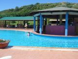 ホテルのプール1