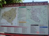バローロ村地図