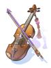 双児宮のバイオリン
