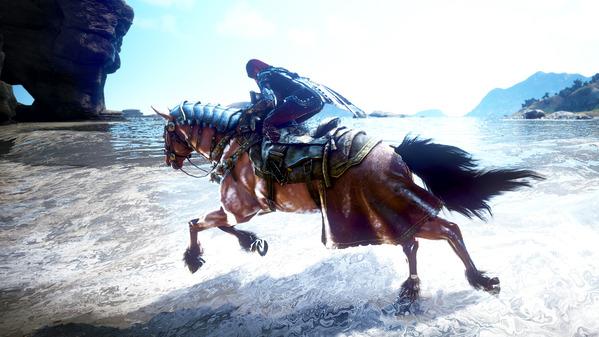 黒い砂漠 リマスタリング 馬