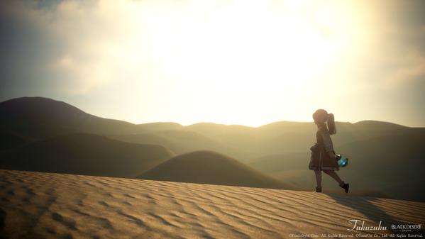 黒い砂漠 シャイ バレンシア大砂漠