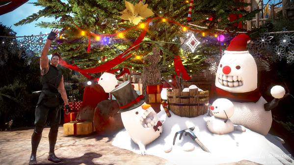 黒い砂漠 アルティノ クリスマス装飾