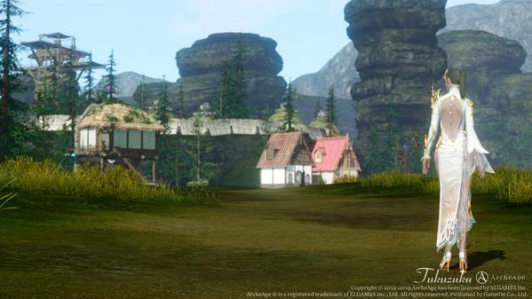 ArcheAge ロカの一手 住宅地